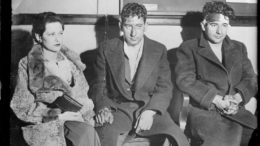 Norma, Murt and Irv in custody.