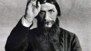 D9973F Gregory Yefimovich Rasputin  1869   1916 Russian mystic who is perceived as having influenced the latter days of the Russian